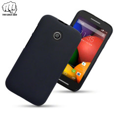 ToughGuard Motorola Moto E Rubberised Case - Black