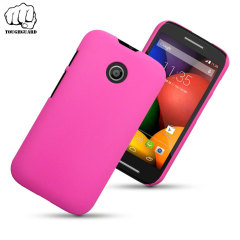 ToughGuard Motorola Moto E Rubberised Case - Pink