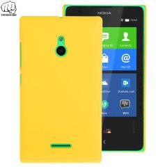 ToughGuard Nokia XL Rubberised Case - Yellow