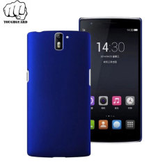 ToughGuard OnePlus One Rubberised Case - Blue