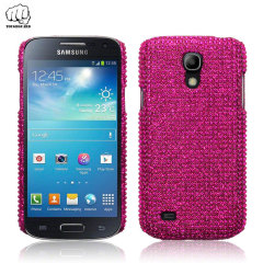 ToughGuard Samsung Galaxy S4 Mini Diamante Bling Case - Pink