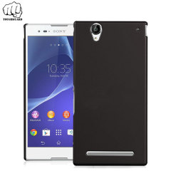 ToughGuard Sony Xperia C3 Rubberised Case - Black