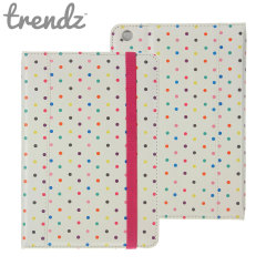 Trendz Folio Stand Case for iPad Mini 2 / iPad Mini - Polka Dot