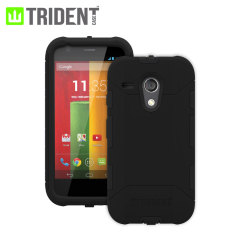 Trident Aegis Case for Moto G - Black