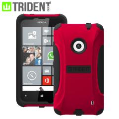 Trident Aegis Nokia Lumia 525 / 520 Protective Case - Red