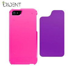 Trident Apollo 2-in-1 Snap-on Case for iPhone 5S / 5 - Purple/Pink