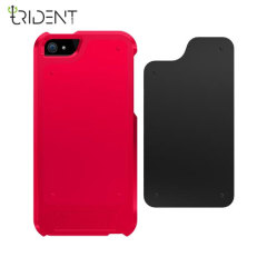 Trident Apollo 2-in-1 Snap-on Case for iPhone 5S / 5 - Red/Black