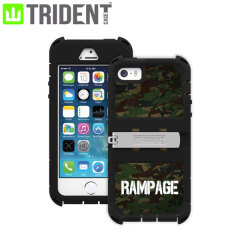 Trident Kraken A.M.S. Rampage Jackson iPhone 5S / 5 Tough Case - Camo
