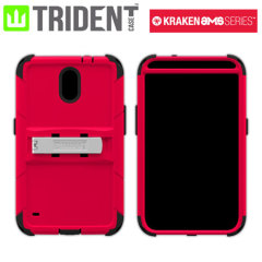Trident Kraken AMS Case for Samsung Galaxy S5 - Red