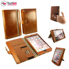 Tuff-Luv Alston Craig Vintage Leather iPad Mini 4 Case - Brown