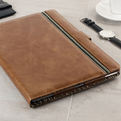 Tuff-Luv Alston Craig Vintage Leather iPad Pro 12.9 inch Case - Brown