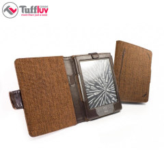 Tuff-Luv Kindle 6 Inch Paperwhite - Hemp Mocha