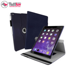 Tuff-Luv Rotating iPad Pro Case - Navy