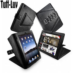 Tuff-Luv Tri-Axis Stasis Series: Veggie Case iPad 4 / 3 / 2 - Black