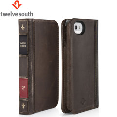 Twelve South BookBook Case for iPhone 5S / 5 - Brown