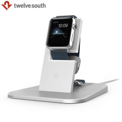 Twelve South HiRise Apple Watch Charging Stand - Silver