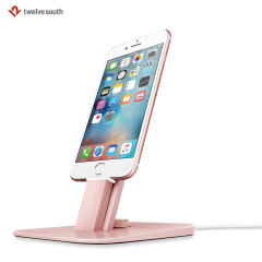 Twelve South Hirise Deluxe Universal Charging Stand  - Rose Gold