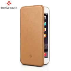 Twelve South SurfacePad iPhone 6S / 6 Luxury Leather Case - Camel