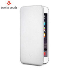 Twelve South SurfacePad iPhone 6S / 6 Luxury Leather Case - White