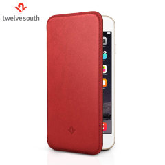 Twelve South SurfacePad iPhone 6S Plus /6 Plus Luxury Leather Case Red