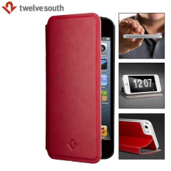 Twelve South SurfacePad Luxury Leather iPhone 5 Case - Red