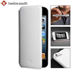 Twelve South SurfacePad Luxury Leather iPhone 5S / 5C / 5 Case - White