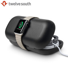 Twelve South TimePorter Apple Watch Charging Stand Case - Black