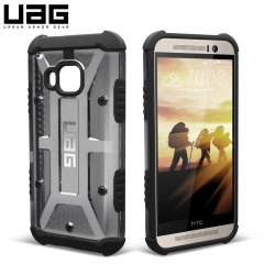 UAG Ash HTC One M9 Protective Case - Smoke Black