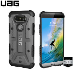 UAG LG G5 Protective Case - Ice / Black