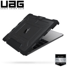 UAG MacBook 12 Inch Tough Protective Case - Ash/Black