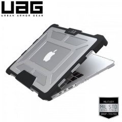 UAG MacBook 12 Inch Tough Protective Clear Case - Ice/Black