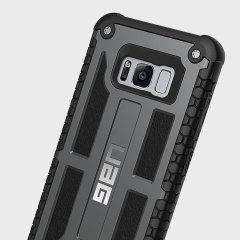 UAG Monarch Premium Samsung Galaxy S8 Protective Case - Graphite