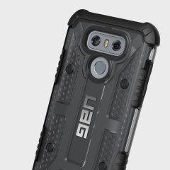 UAG Plasma LG G6 Protective Case - Ash / Black