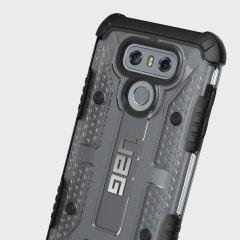 UAG Plasma LG G6 Protective Case - Ice / Black