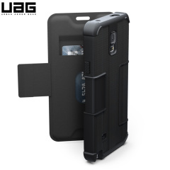 UAG Scout Folio Samsung Galaxy Note 4 Protective Wallet Case - Black