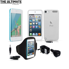 Ultimate iPod Touch 5G Accessory Pack - Clear