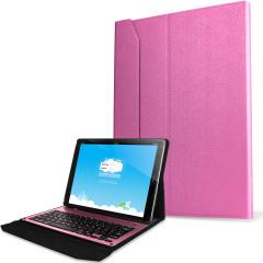 Ultra-Thin Aluminium Keyboard iPad Pro Folding Case - Pink