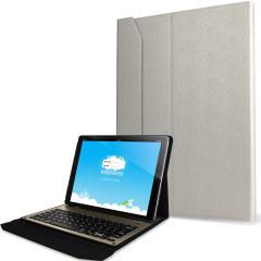 Ultra-Thin Aluminium Keyboard iPad Pro Folding Case - White