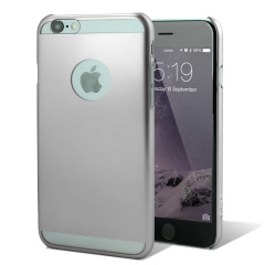 Ultra Thin iPhone 6 Shell Case - Silver