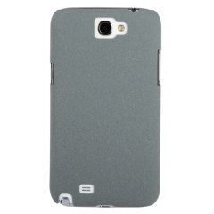 Ultra Thin Textured Hard Case for Samsung Galaxy Note 2 - Grey