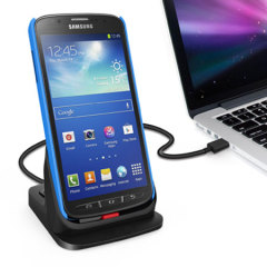 Ultrathin Dual Desktop Charging Cradle for Samsung Galaxy S4 Active