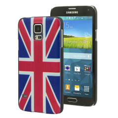 Union Jack British Flag Design Samung Galaxy S5 Case