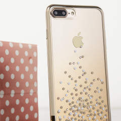 Unique Polka 360 iPhone 7 Plus Case - Champagne Gold