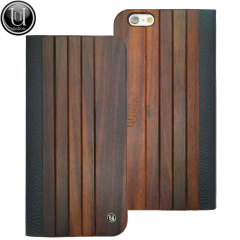 Unique Wooden Panel iPhone 6S / 6 Case - Brown
