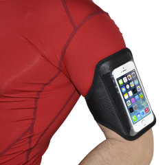 Universal Armband for Medium-Sized Smartphones - Black