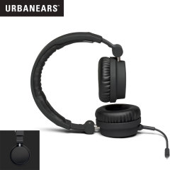 URBANEARS Zinken DJ Headphones with Handsfree - Black