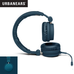 URBANEARS Zinken DJ Headphones with Handsfree - Indigo