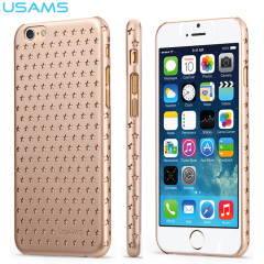 USAMS Twinkle Series Ultra-Thin iPhone 6 Shell Case - Gold
