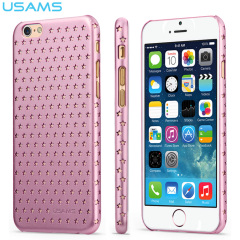 USAMS Twinkle Series Ultra-Thin iPhone 6S / 6 Shell Case - Pink
