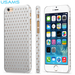 USAMS Twinkle Series Ultra-Thin iPhone 6S / 6 Shell Case - Silver